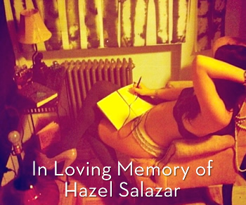 In Loving Memory of Hazel Salazar